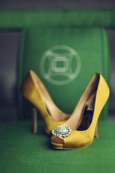 Amazing Yellow Shoes