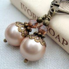Vintage inspired earrings.