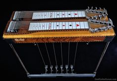 Sho~Bud Crossover 6+4 Pedal Steel Guitar, Guitar Pedals, Crossover, Bud, Guitars, Eye Candy, Instruments, Audio Crossover, Guitar