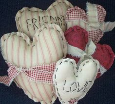 Set of 5 Basket Filler Ornaments