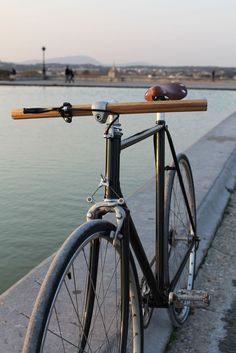 Curved wood handlebar - thibautmalet