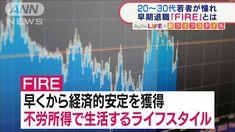 """若者憧れ「FIRE」とは?早期退職で""""不労所得""""生活(テレビ朝日系(ANN)) - Yahoo!ニュース Yahoo"""