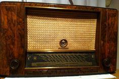 Radio Antigua, Radios, Retro, Vintage, Crystals, Chips, Gift, Home, Gadgets