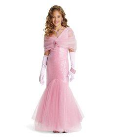 pink movie star girls costume
