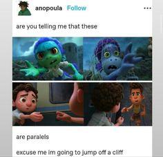 Disney Jokes, Disney Cartoons, Disney And Dreamworks, Disney Pixar, Disney Magic, Disney Art, Lucas Movie, Mermaid Movies, Boy Fishing