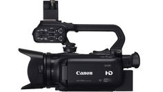 Canon XA20 & Kit  Camcorder AVCHD 4:2:0 - CMOS da 1/2.84 Full HD, processore DiGIC DV4, ottica zoom 20x f/1.8 stabilizzata, monitor OLED da da 3,5? e 1,23 milioni di punti, mirino LCD da 1,56 miltioni di punti, inclinabile a 45°, uscite HDMI e Composito, 2x SdCard slot, Connettività WiFi. In promozione fino al 30/11/2015 Info: https://www.adcom.it/it/search/q_n_30?searchstring=XA20&marche=&sito=1&but-search=Cerca