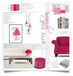 gray and cyclamen by levai-magdolna on Polyvore featuring interior, interiors, interior design, home, home decor, interior decorating, Eichholtz, Flamant, Missoni Home and Currey & Company
