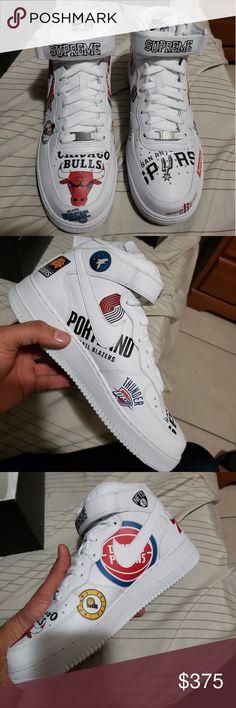 ad24914c342a Supreme Nike air force 1s Supreme NBA air force 1s Supreme Shoes Athletic  Shoes Supreme Shoes