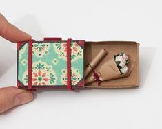 Matchbox Suitcases with Personalized Messages by... |