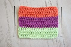 How to Crochet Clean Edges along Rough Edges Tutorial by Felted Button (Colorful Crochet Patterns)