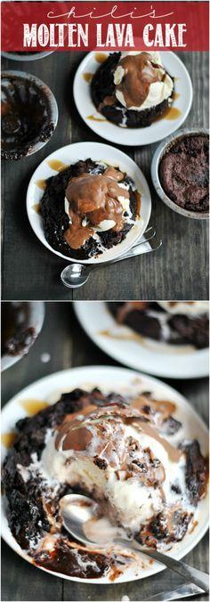 Chili's Molten Lava Cake Copycat Recipe