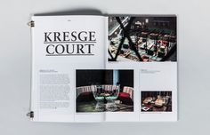 Design and art-direction for Detroit art and culture publication, Grand Circus Magazine.