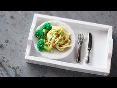 Dollhouse Spaghetti & Broccoli - YouTube