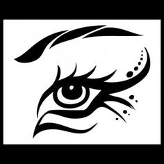 How to Draw a Tribal Eye, Step by Step, Tribal Art, Pop Culture, FREE Online Drawing Tutorial, Added by Dawn, March 12, 2010, 11:22:58 pm