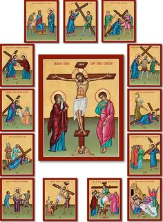Shop Stations of the Cross Sets at Monastery Icons today.