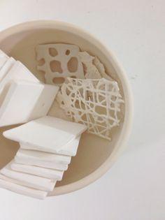 Random textures | White Atelier BCN Ceramics