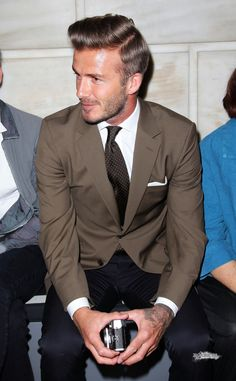 Sept. 9th - NY - David at the Victoria Beckham Spring 2013 presentation - David Beckham Photo (32132520) - Fanpop fanclubs