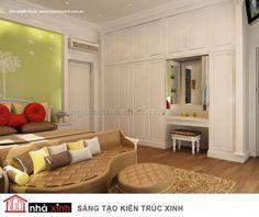 Không gian đẹp với tủ âm tường- Thiet Ke Nha | Thiet Ke Nha Dep | Mau Nha Dep | Mau Thiet Ke Nha | Mau Nha | Nha Dep | Nha Xinh