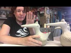 Möwenschnabeltrick - YouTube Clay Art, Tricks, Things To Do, Projects To Try, Pottery, Shapes, Cool Stuff, Color, Youtube