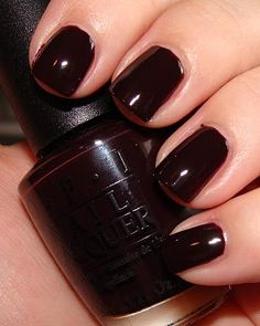 possibly the greatest nail polish color of all time  Lincoln Park After Dark by OPI