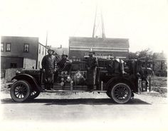 Fire Department.  Kenilworth's Bravest.  Kenilworth, NJ 1927