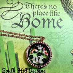 Somewhere over the rainbow ... South Hill Designs locket www.southhilldesigns.com/teamjohnson