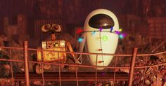 It may be set in the future, but WALL-E and EVE's romance is a classic romantic…