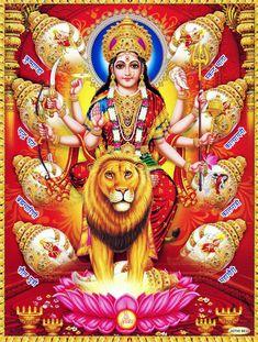 Durga Kali, Durga Goddess, India Map, Hindu Dharma, Hindu Art, Angel Art, Sacred Art, Hinduism, Gods Love