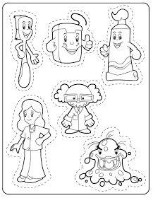 Dental Activities for Kids - Todo Sobre La Salud Bucal 2020 Health Activities, Preschool Activities, Dementia Activities, Physical Activities, Community Helpers Preschool, Dental Health Month, Oral Health, Preschool Colors, Health Lessons