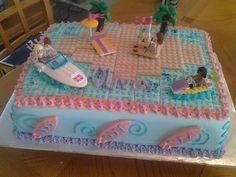 Lego Friends cake. www.cakesarah.com