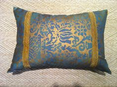 Decorative Pillow by Careyes on Etsy, $195.00  scolvingant@aol.com