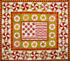 Minick & Simpson: Christmas quilt by Laurie Simpson 2012
