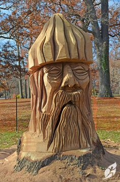 Are you searching for some woodworking projects that you want to make and want to sell as well? Chainsaw Wood Carving, Wood Carving Faces, Tree Carving, Wood Carvings, Driftwood Sculpture, Tree Sculpture, Druid Hills, Hill Park, Nature