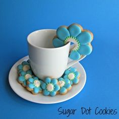 Sugar Dot Cookies . . . Handmade Sugar Cookies for every occasion - Purchase handmade custom sugar cookies decorated with royal icing for an...