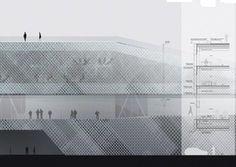 VRTATERMINALEN Ferry terminal, Stockholm, 2010 - C. F. Møller Architects