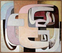 "Sally Schaedler; Painting, ""Convergence"""