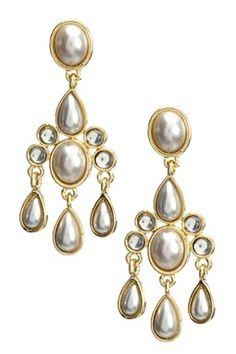 Absolutely Gorgeous, A Must have!!  Amrita Singh Sonam Pearl Earrings