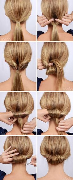 17 fast and super creative hairstyle ideas #hairstyles #hairstyletutorial http://tinkiiboutique.com/