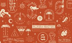 Palmera Roasters on Behance Coffee Shop Branding, Cafe Branding, Ca Usa, Laguna Beach, Best Coffee, Adobe, Behance, Poster, Safe Room