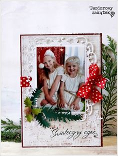 Christmas card .... what a delightful way to send a Christmas photo!!!