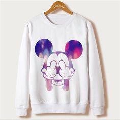 Cute Cartoon Micky Mouse Sweatshirt (Many Design)