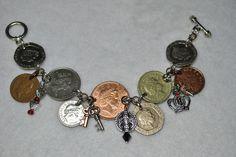 UK coin bracelet