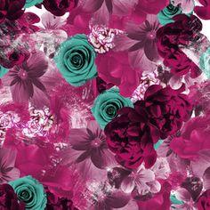 Flowers in Dark Pink