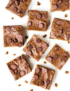 You will LOVE these Sweet Potato Brownies! Thick, fudgy, EASY, and healthy. NO BUTTER, NO SUGAR! Recipe at wellplated.com | @wellplated