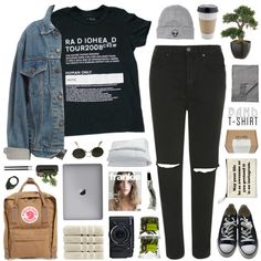 this is what you get when you mess with us by hhuricane on Polyvore featuring moda, Levi's, Topshop, Converse, Fjällräven, Lady Grey, With Love From CA, Acne Studios, Ray-Ban and Aesop