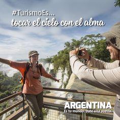 #Turismoes... Tocar el cielo con el alma!  #DiaMundialDelTurismo #Argentina #WTD2015 #ArgentinaEsTuMundo Date una vuelta! Movies, Movie Posters, The Soul, Tourism, Buenos Aires Argentina, Films, Film Poster, Popcorn Posters, Cinema