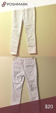White high waisted jeans Stretchy/superskinny refuge Jeans Skinny