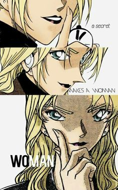 A secret makes a woman woman #Vermouth #Detective #Conan