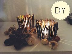 12 DIY Centerpieces That Make Great Kindling