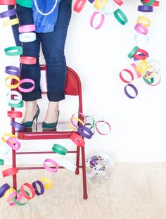 With Saint Patrick's Day coming, and a spring sky filled with clouds today – the hope of a rainbow is seemingly everywhere. This easy to craft rainbow garland is a great solution for last minute St. Patrick's Day decor. Plus, it's one of those party pieces that works to brighten up moods on any old...Read More